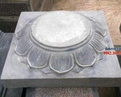 Chân tảng đá đẹp ĐK 02 - Hình ảnh tảng đá đẹp kê cột gỗ cao cấp