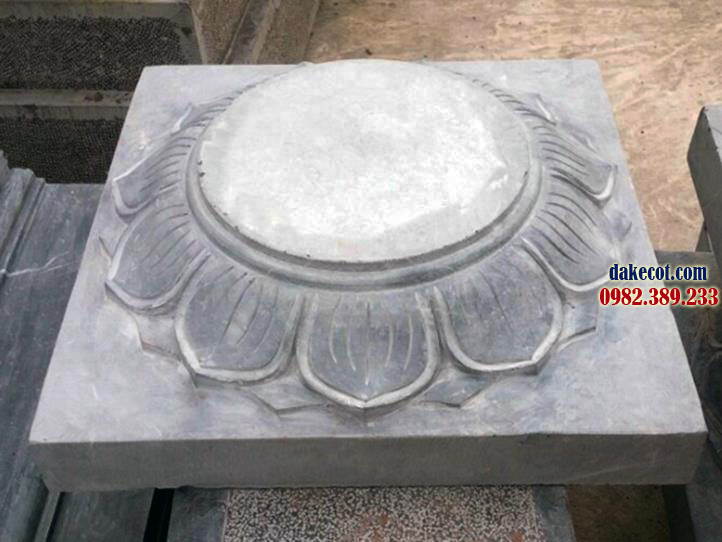 Đá kê cột ĐK 02 - dakecot.com - chân tảng đá