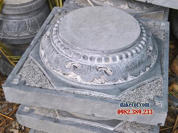 Đá kê cột ĐK 04 - dakecot.com - chân tảng đá