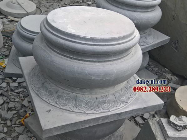 Đá kê cột ĐK 09 - dakecot.com - chân tảng đá