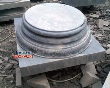 Chân cột nhà gỗ ĐK 16 - Muốn làm nhà gỗ hãy mua ngay mẫu chân cột nay