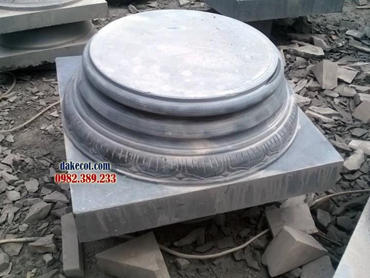 Đá kê cột ĐK 16 - dakecot.com - chân tảng đá