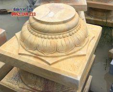 Mẫu đá kê cột nhà sàn ĐK 19 - Chân cột nhà sàn đẹp được yêu thích