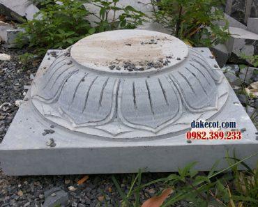 Địa chỉ bán chân tảng đá ĐK 24 - Nơi sản xuất nhiều mẫu tảng đẹp
