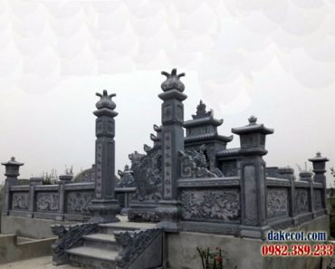 Khu lăng mộ dòng họ ĐK 16