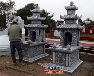 Mẫu mộ ba mái DK 02