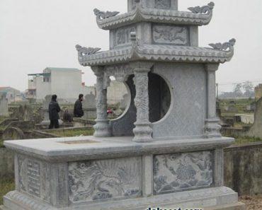 Mẫu mộ ba mái ĐK 10