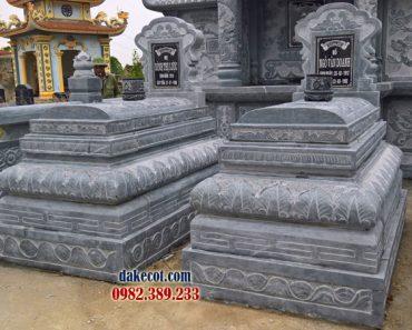 Mẫu mộ đẹp đơn giản ĐK 12