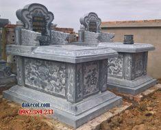 Mẫu mộ đẹp đơn giản ĐK 16