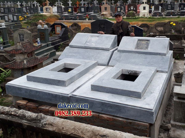 Mẫu mộ đôi đẹp DK 03