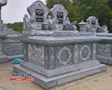 Mẫu mộ đôi đẹp ĐK 11