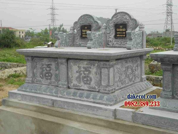 Mẫu mộ đôi đẹp ĐK 12