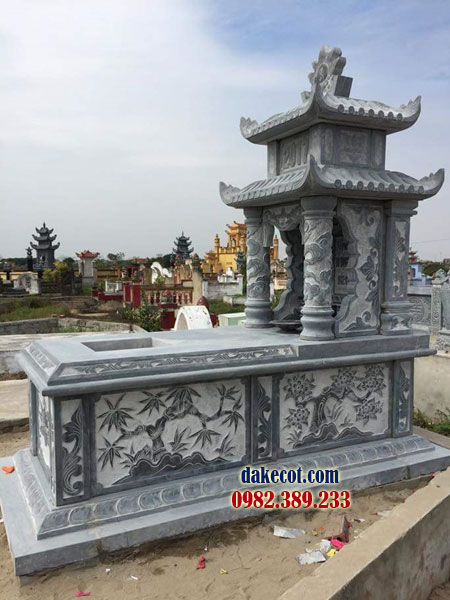 Mẫu mộ hai mái DK 05