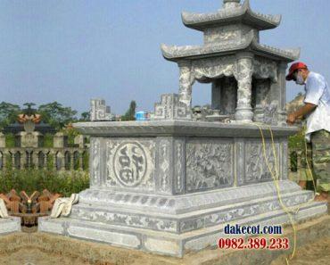 Mẫu mộ hai mái ĐK 09