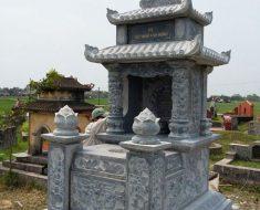 Mẫu mộ hai mái ĐK 11