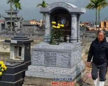 Mẫu mộ một mái DK 01