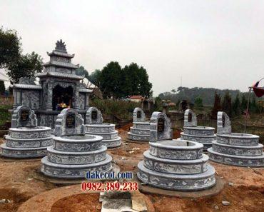 Mẫu mộ tròn đẹp DK 01