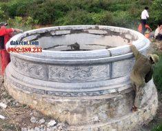 Mẫu mộ tròn đẹp DK 03