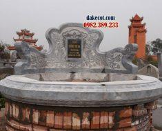 Mẫu mộ tròn đẹp ĐK 04