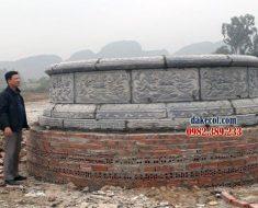 Mẫu mộ tròn đẹp ĐK 05