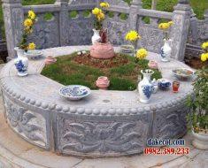 Mẫu mộ tròn đẹp ĐK 11