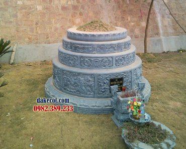 Mẫu mộ tròn đá mới nhất