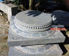 Đá kê chân cột nhà ĐK 08 - Chân đế kê cột nhà sàn đẹp và vững chắc