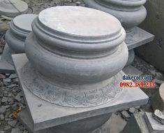 Đế kê cột ĐK 09 - Hình ảnh chân tảng đế cột gỗ bằng đá tự nhiên