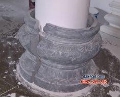 Đá tảng kê cột nhà ĐK 21 - Tảng kê cột nhà gỗ làm từ đá khối