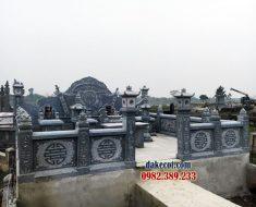 Khu lăng mộ dòng họ ĐK 02