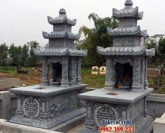 Mẫu mộ ba mái DK 01