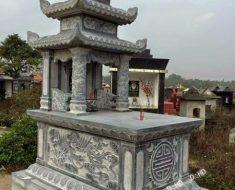 Mẫu mộ ba mái ĐK 11