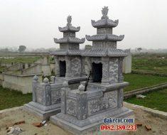 Mẫu mộ ba mái ĐK 12
