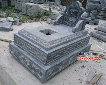 Mẫu mộ đẹp đơn giản ĐK 17