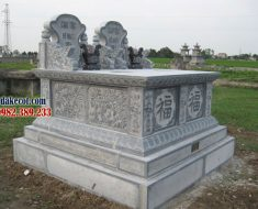 Mẫu mộ đôi đẹp ĐK 10