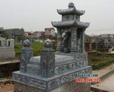 Mẫu mộ hai mái DK 01