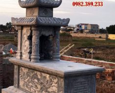 Mẫu mộ hai mái DK 03