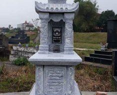 Mẫu mộ hai mái DK 04