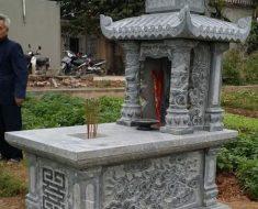Mẫu mộ hai mái DK 06