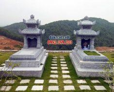 Mẫu mộ hai mái ĐK 08