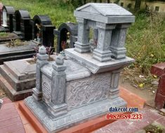 Mẫu mộ một mái DK 03