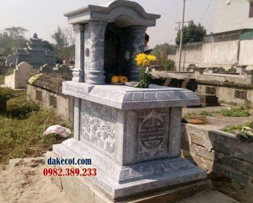 Mẫu mộ một mái DK 04