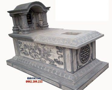 Mẫu mộ một mái ĐK 07