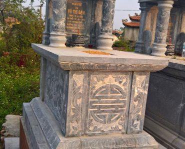 Mẫu mộ một mái ĐK 10