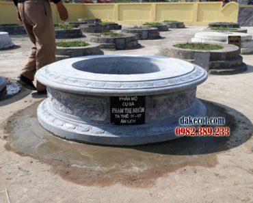 Mẫu mộ tròn đẹp DK 02