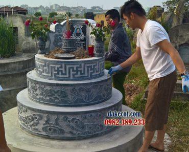 Mẫu mộ tròn đẹp ĐK 08