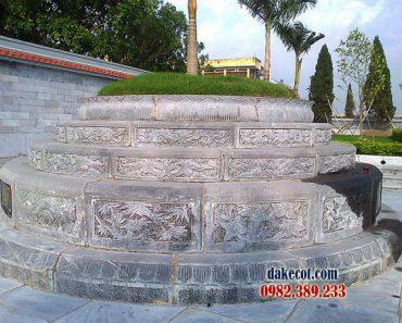 Mẫu mộ tròn đẹp ĐK 09